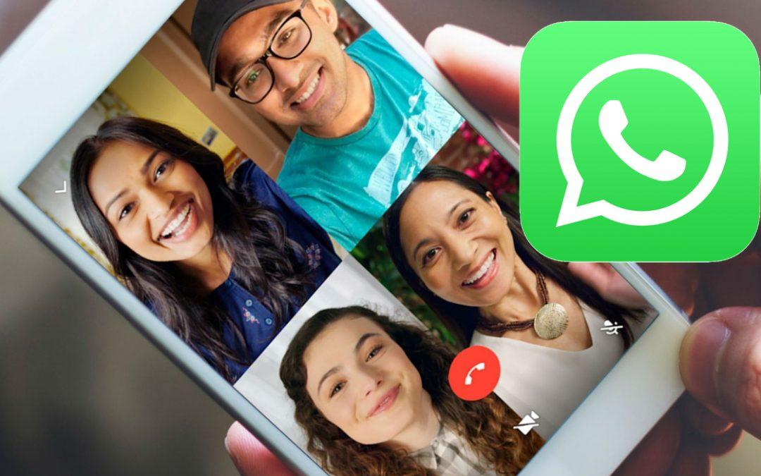 Cómo realizar videollamadas grupales en WhatsApp durante la cuarentena